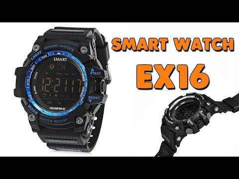 СМАРТ ЧАСЫ EX16 - ГОД БЕЗ ЗАРЯДКИ - Smart Watch EX16 - Aliexpress