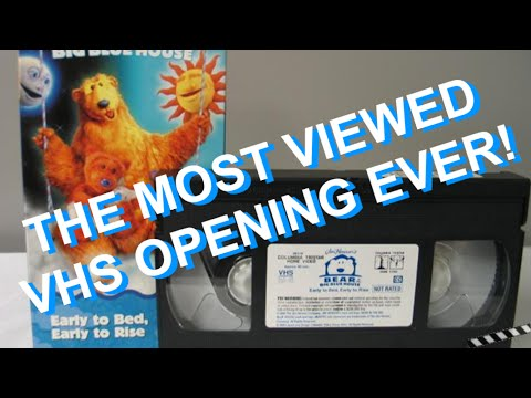 Opening to Bear in the Big Blue House: Early to bed, Early to rise VHS Music Videos