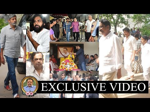 Tollywood Celebs Pay Homage to Nandamuri Harikrishna | Tollywood #9RosesMedia