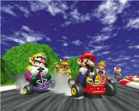 Mario Kart Wired Racing Car
