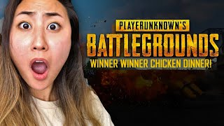 PUBG WINNER WINNER CHICKEN DINNER!!