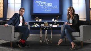 Sam Rockwell Tells Allison Janney About Breaking Umbrellas to Prepare for Scenes
