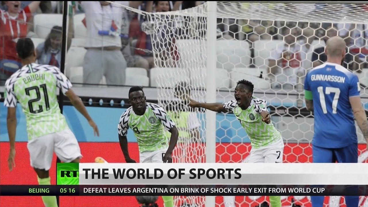 World Cup: Nigeria Dominates Iceland