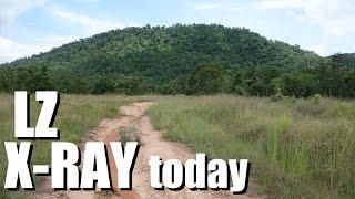 Vietnam War battlefields: IA DRANG Valley LZ X Ray TODAY
