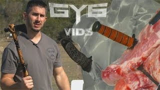 THROWING Knives & Tomahawks vs. GEL/RIBS