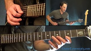 Nothing Else Matters Guitar Lesson Pt.1 - Metallica - Intro & Chords