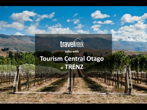 Speaking to Tourism Central Otago at TRENZ 2015