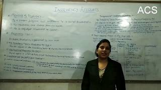 Insolvency and bankruptcy accounts by Prof Akriti Singh.