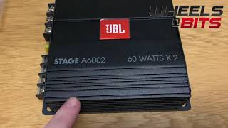 jbl stage a6002 review 2 channel car amplifier 280 watt Max 2x 60rms Class D Amp