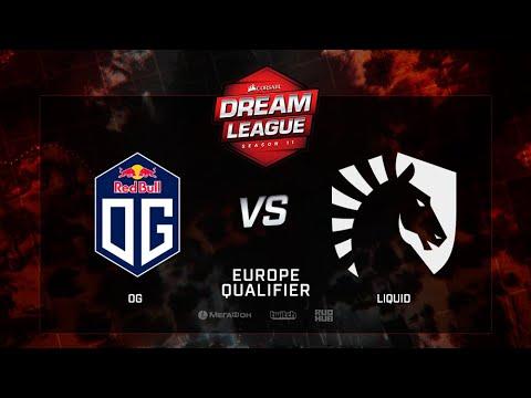 OG vs Liquid, DreamLeague Season 11, EU QL, bo3, game 1 [Adekvat & Mortalles]