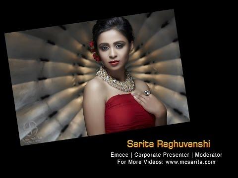 MC Sarita Raghuvanshi hosting an event for ACI Worldwide!