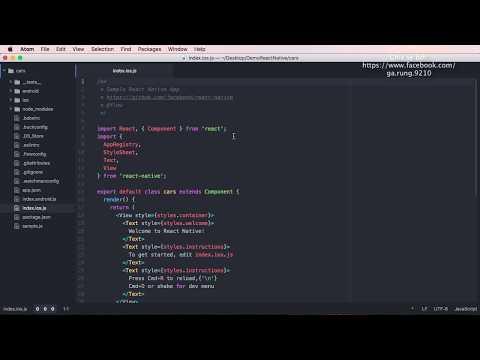 Cùng học React Native phần 3: Sơ lược về cấu trúc thư mục React Native