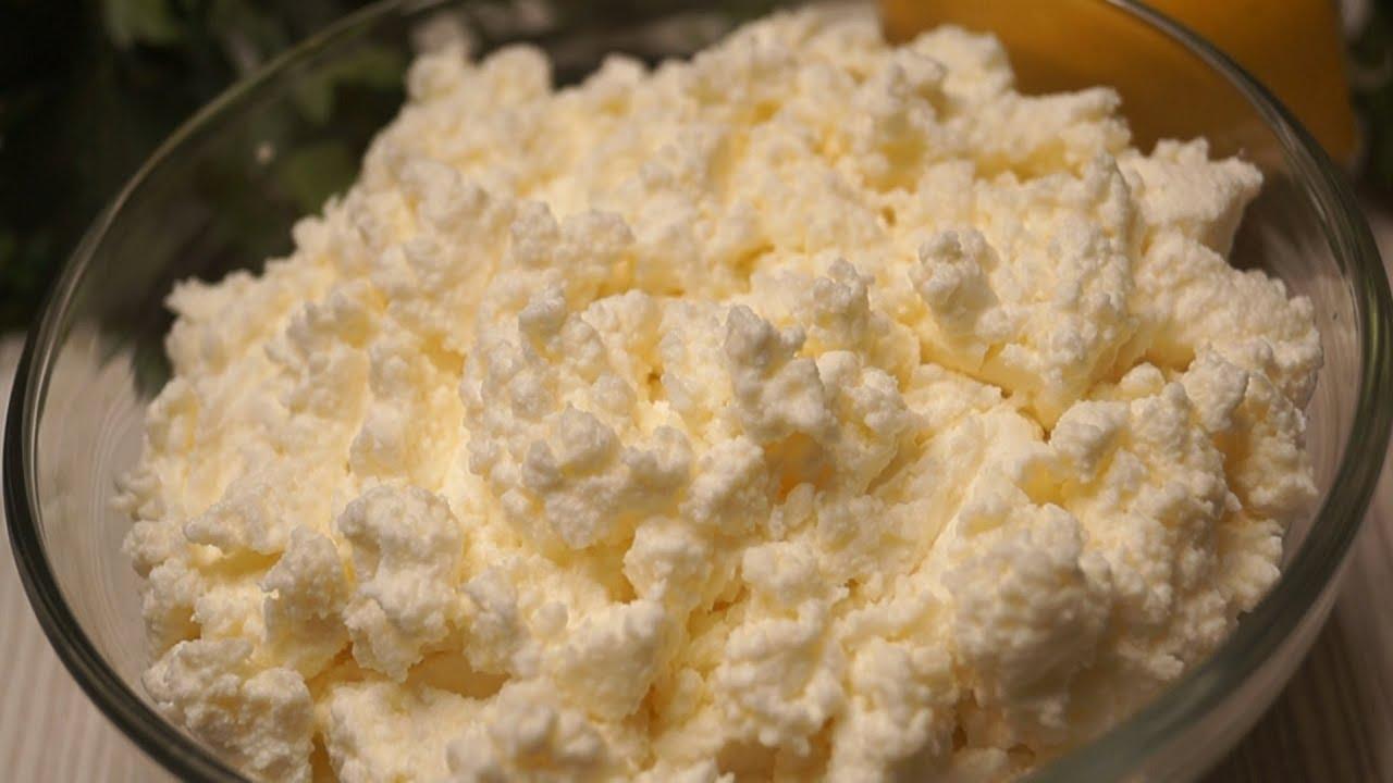 Рецепт творога в домашних условиях из кислого молока