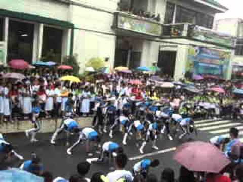 Lucban Academy Intrams 2012 [ Juniors UPRISING Cheerdance ]