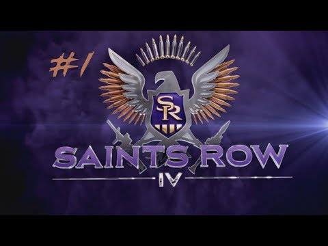 [CO-OP] Let's PlaySaints Row IV Part 1 - Possibly the best CO-OP game!!!!!