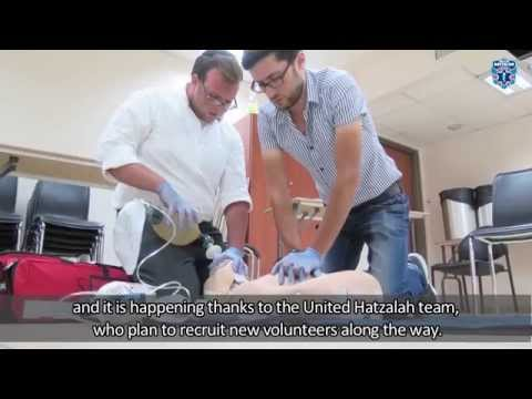 """Radio Darom-""""Ofer Davidi starts a new Hatzalah EMT Course in the South of Israel"""""""