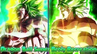 Dragon Ball Super Broly Movie Recreation! - Dragon Ball Xenoverse 2