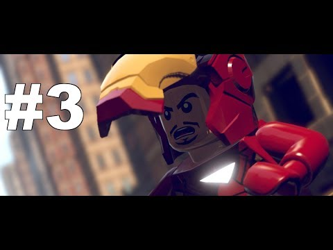 Let's Play LEGO Marvel Super Heroes The Video Game with commentary Part 3