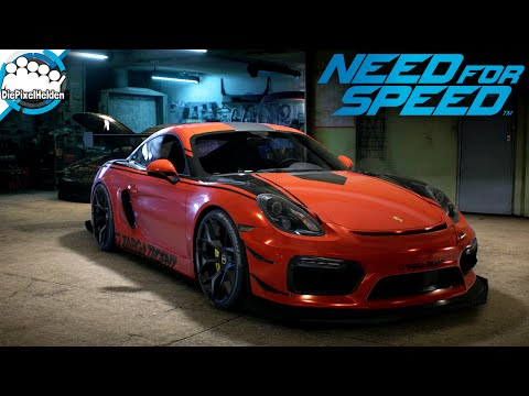 NEED FOR SPEED - Porsche Cayman GT4 - Maxbuild - Need for Speed Carbuild