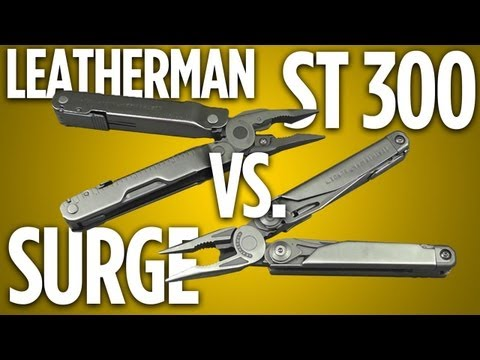 Leatherman Super Tool 300 vs. Surge: Heavy Duty. Head-to-Head