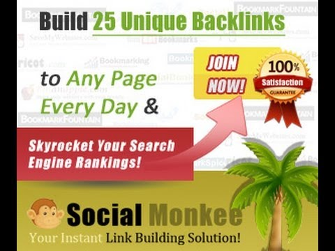 Social Monkee Review On How To Build Quality Social Backlinks