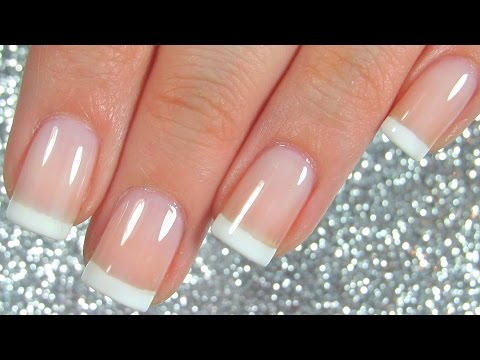 Easiest French Manicure Nail Tutorial