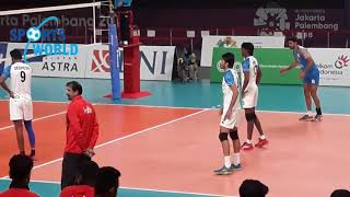 Pakistan Volleyball Team Win Match Against India Asian Games 2018