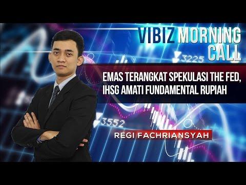 Emas Terangkat Spekulasi The Fed, IHSG Amati Fundamental Rupiah, Vibiznews 25 Maret 2015