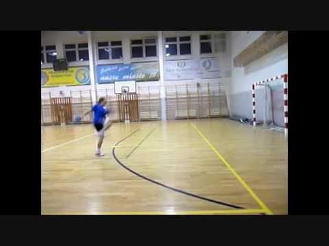 Piłka Ręczna - Rzut W Slow Motion