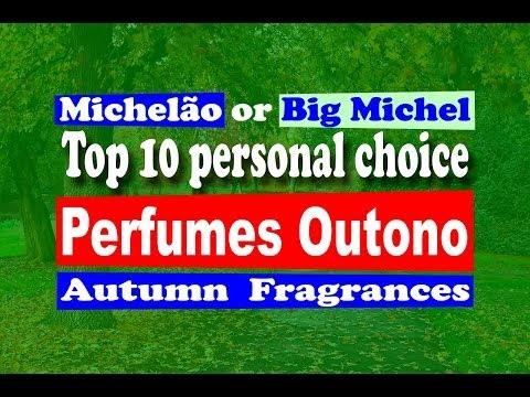 Perfumes Outono Top 10 Fall / Autumn Fragrances - with subtitles