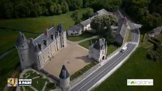 Château De Montpoupon - Drone