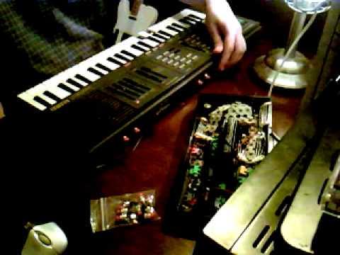 Circuit Bent Yamaha PSS 360 - Glitch Music