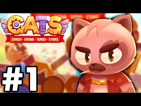 THIS Game Is CRAZY..!!!! | C.A.T.S | Crash Arena Turbo Stars Gameplay (IOS/Android)