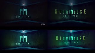 BH Productions and Blumhouse Productions Horror Logos (2012-Present)