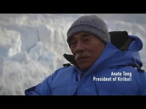 Kiribati president asks the world to be human