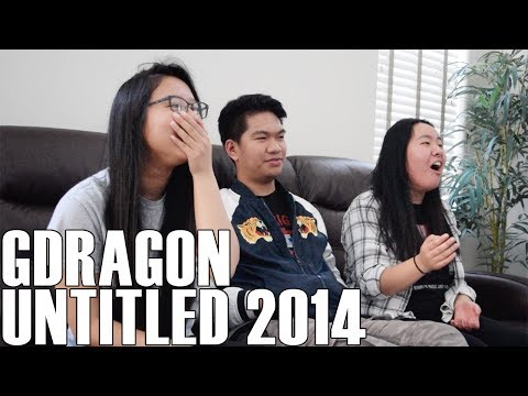 Cover Lagu G-Dragon - Untitled, 2014 (Reaction Video)