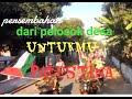 Karnaval hebat save Palestina dan Persatuan dari Purwogondo Sidoharjo Polanharjo Klaten di HUT RI 72