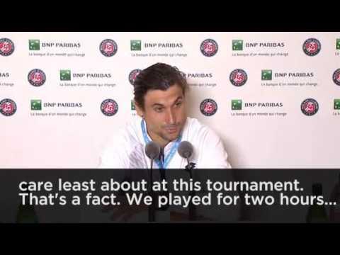 David Ferrer slams French Open organisers