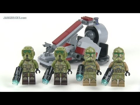 LEGO Star Wars 75035 Kashyyyk Troopers set Review!