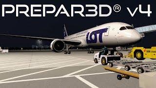 Prepar3D v4.2 | Beijing to Warsaw | ZBAA-EPWA | QualityWings 787-8 | P3D