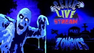 Black Ops 2 Zombies - Green Run: Town Livestream