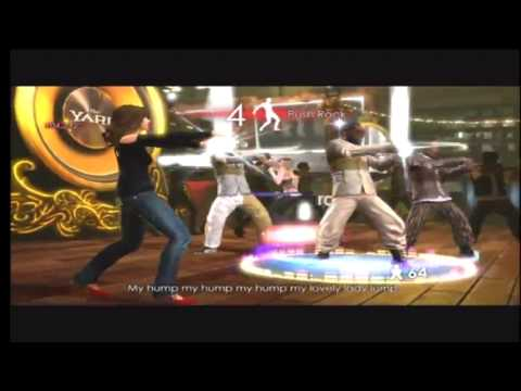 The Black Eyed Peas Experience  My Humps Kinect Gameplay video