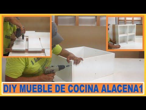 Como hacer muebles / módulo Alacena de cocina en melamina
