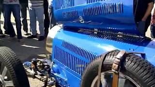 démarrage Bugatti 35C de 1927