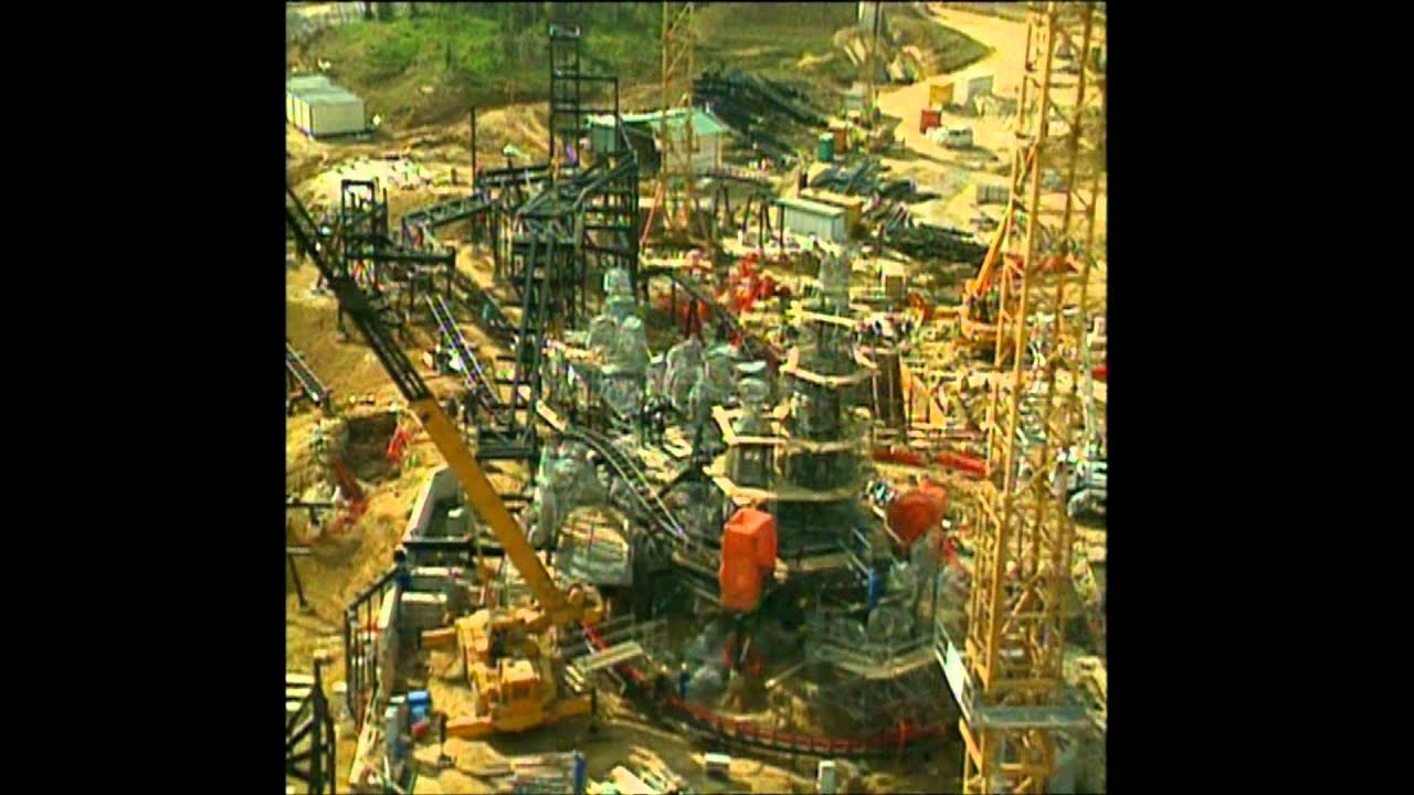 la construction du parc disneyland paris de 1988  u00e0 1992