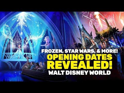 Walt Disney World: Opening dates set for Frozen Ever After, Star Wars fireworks, and more!