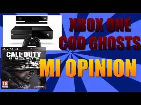 Xbox One, Call of duty: Ghosts | Opinion Personal