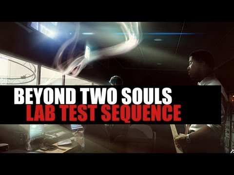 Beyond Two Souls - All New Gameplay: Lab Test