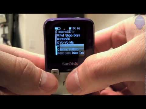 sandisk sansa clip+ 8gb mp3 player user manual