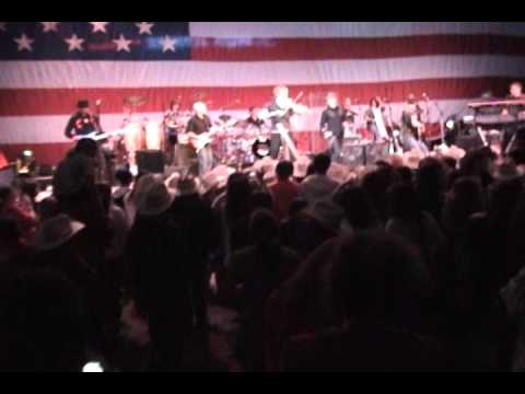 Gary Sinise and the Lieutenant Dan Band at Snowball Express 2010 Dallas